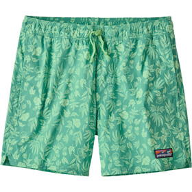 "Patagonia Stretch Wavefarer Volley Shorts 16"" Men fiber flora/light beryl green"